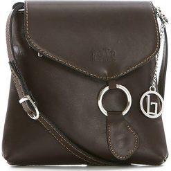 Torebki klasyczne damskie: Skórzana torebka w kolorze brązowym – 21 x 22 x 4 cm