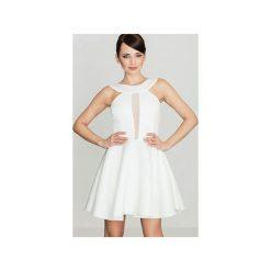 Sukienka K270 Ecru. Szare sukienki na komunię marki Lenitif, l. Za 139,00 zł.