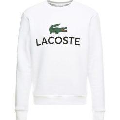 Lacoste Bluza blanc. Szare bluzy męskie marki Lacoste, z bawełny. Za 479,00 zł.