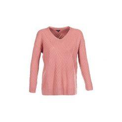 Swetry Pepe jeans  EDNA. Szare swetry klasyczne damskie marki Pepe Jeans, m, z jeansu, z okrągłym kołnierzem. Za 329,00 zł.