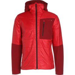 Ziener NIBORI Kurtka narciarska red pop. Czerwone kurtki narciarskie męskie marki Ziener, m, z materiału. W wyprzedaży za 527,20 zł.