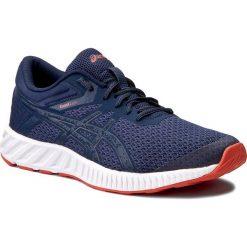 Buty sportowe męskie: Buty ASICS – FuzeX Lyte 2 T719N Insignia Blue/Insignia Blue/Cherry Tomato 5050