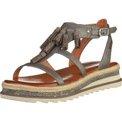 Sandały damskie: Sandały w kolorze srebrnym