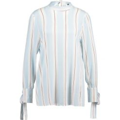 Bluzki asymetryczne: Soft Rebels CARRY Bluzka light blue print