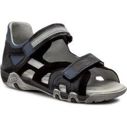 Sandały RENBUT - 31-4282 Czarny. Czarne sandały męskie skórzane marki RenBut. W wyprzedaży za 149,00 zł.