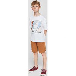 Odzież chłopięca: Mango Kids – T-shirt dziecięcy Clean 110-164 cm