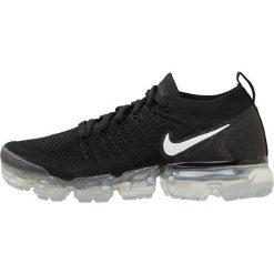 Nike Performance AIR VAPORMAX FLYKNIT 2 Obuwie do biegania treningowe black/white/dark grey/metallic. Brązowe buty do biegania damskie marki N/A, w kolorowe wzory. Za 879,00 zł.