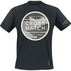 T-shirty męskie z nadrukiem: Crosshatch Watkins T-Shirt czarny