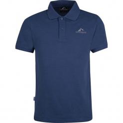 """Koszulka polo """"Hekla"""" w kolorze niebieskim. Niebieskie koszulki polo marki GALVANNI, l, z okrągłym kołnierzem. W wyprzedaży za 86,95 zł."""