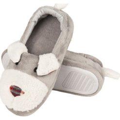 Soxo - Kapcie dziecięce. Szare kapcie dziewczęce marki Soxo, z gumy, z okrągłym noskiem. Za 69,90 zł.