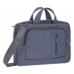 """Riva Case Alpendorf 13"""" szara. Szare torby na laptopa marki RivaCase, w paski. Za 149,00 zł."""