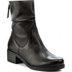 Botki LASOCKI - 7467-01 Czarny. Czarne buty zimowe damskie Lasocki, ze skóry. Za 279,99 zł.
