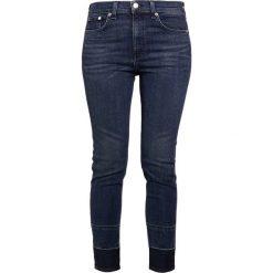 Rag & bone HIGHRISE ANKLE SKINNY Jeansy Slim Fit blue denim. Niebieskie rurki damskie rag & bone. Za 1139,00 zł.