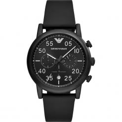 Zegarek EMPORIO ARMANI - Luigi AR11133 Black/Black. Czarne zegarki męskie Emporio Armani. Za 1159,00 zł.