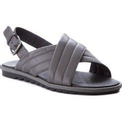 Sandały WOJAS - 7303-50-40 Popiel. Szare sandały męskie skórzane Wojas. W wyprzedaży za 199,00 zł.