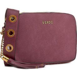 Torebka VERDE - 16-0004303 Burgundy. Czerwone torebki klasyczne damskie Verde. Za 139,00 zł.