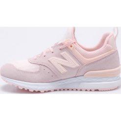 New Balance - Buty WS574SNC. Brązowe buty do fitnessu damskie New Balance, z gumy. W wyprzedaży za 379,90 zł.
