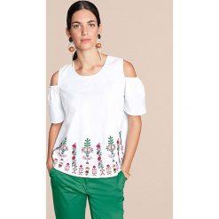 Odzież damska: Bluzka w kolorze białym