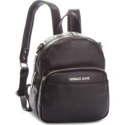 Plecak VERSACE JEANS - E1VSBBB7 70709 899. Czarne plecaki damskie Versace Jeans, z jeansu. Za 699,00 zł.