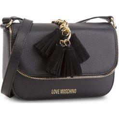 Torebka LOVE MOSCHINO - JC4146PP16LZ0000  Nero. Czarne listonoszki damskie marki Love Moschino, ze skóry. W wyprzedaży za 769,00 zł.