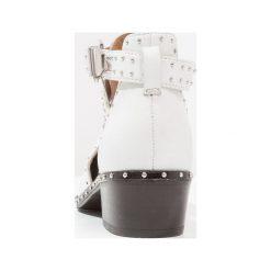 Botki damskie lity: Bronx Ankle boot white