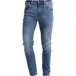 Spodnie męskie: Springfield CLARO Jeansy Slim Fit darkblue denim