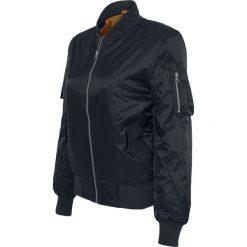 Urban Classics Ladies Basic Bomber Jacket Kurtka damska czarny. Czarne bomberki damskie marki Urban Classics, l, prążkowane. Za 199,90 zł.