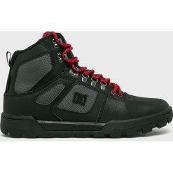 DC - Buty. Czarne buty trekkingowe męskie DC, z materiału, na sznurówki, outdoorowe. Za 579,90 zł.