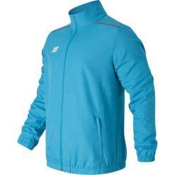 Kurtka treningowa MJ630029PLR. Niebieskie kurtki męskie marki New Balance, m, z materiału, sportowe. W wyprzedaży za 129,99 zł.