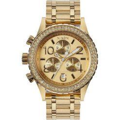 Zegarki damskie: Zegarek damski All Gold Crystal Nixon 38-20 Chrono A4041520