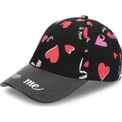 Czapka z daszkiem TRUSSARDI JEANS - Caps Print Heart 59Z00123 K501. Szare czapki z daszkiem damskie marki Calvin Klein Jeans, na zimę, z jeansu. Za 189,00 zł.
