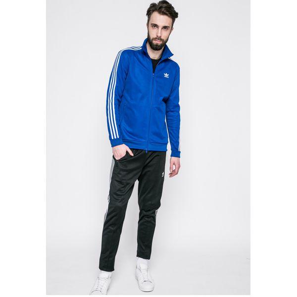 b03fe2b4ea39d adidas Originals - Bluza - Niebieskie bluzy męskie adidas Originals ...