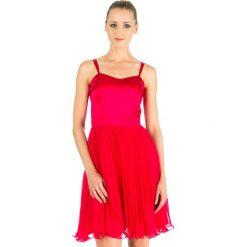 Odzież damska: Sukienka Naf Naf w kolorze czerwonym