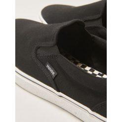 Buty skate męskie: Wsuwane buty sportowe - Czarny