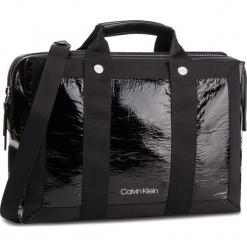 Torebka CALVIN KLEIN - Outlne Tote K60K60481 Black 001. Czarne torebki klasyczne damskie Calvin Klein, ze skóry ekologicznej. Za 649,00 zł.