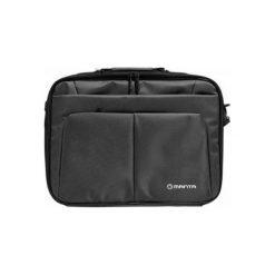 "MANTA Torba na Laptopa MA122 Salamander 15"" Czarna. Czarne torby na laptopa Manta, w paski. Za 99,90 zł."