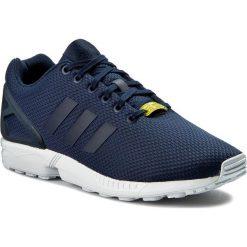 Buty adidas - Zx Flux M19841 Darkblue/Darkblue/Co. Niebieskie buty do biegania damskie marki Adidas, w paski, z materiału, adidas zx. W wyprzedaży za 269,00 zł.
