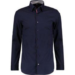 Koszule męskie na spinki: Eterna SLIM FIT UBD AUSPUTZ Koszula biznesowa dunkelblau