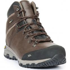 Skórzane buty turystyczne w kolorze brązowym. Brązowe buty trekkingowe męskie Trespass Shoes & Accessoires, z materiału. W wyprzedaży za 304,95 zł.