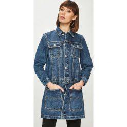 Tommy Jeans - Kurtka. Szare kurtki damskie jeansowe marki Tommy Jeans, l. Za 699,90 zł.