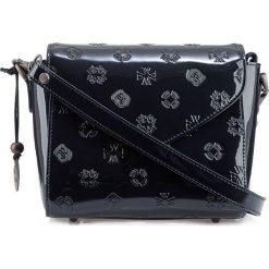 Torebka damska 34-4-601-N. Niebieskie torebki klasyczne damskie marki Wittchen, w paski, z tłoczeniem. Za 599,00 zł.