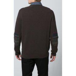 Swetry męskie: Barbour HARROW Sweter dark brown