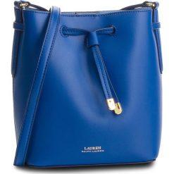 Torebka LAUREN RALPH LAUREN - Dryden 431670243019  Cosmic Blue. Niebieskie torebki worki Lauren Ralph Lauren, ze skóry, zdobione. Za 999,00 zł.