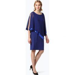 Vera Mont Collection - Damska sukienka wieczorowa, niebieski. Niebieskie sukienki Vera Mont Collection, eleganckie, z długim rękawem, maxi. Za 499,95 zł.