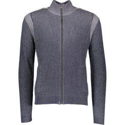 Sweter rozpinany w kolorze granatowym. Niebieskie kardigany męskie marki Tom Tailor, m, z bawełny, ze stójką. W wyprzedaży za 147,95 zł.