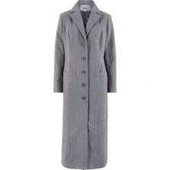Długi płaszcz bonprix szary melanż. Szare płaszcze damskie bonprix, melanż. Za 189,99 zł.