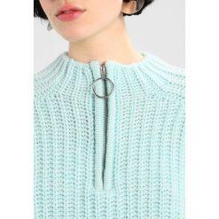 Swetry klasyczne damskie: Weekday AURORA  Sweter mint