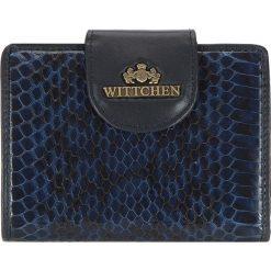 Portfel 19-1-362-N. Niebieskie portfele damskie Wittchen. Za 159,20 zł.