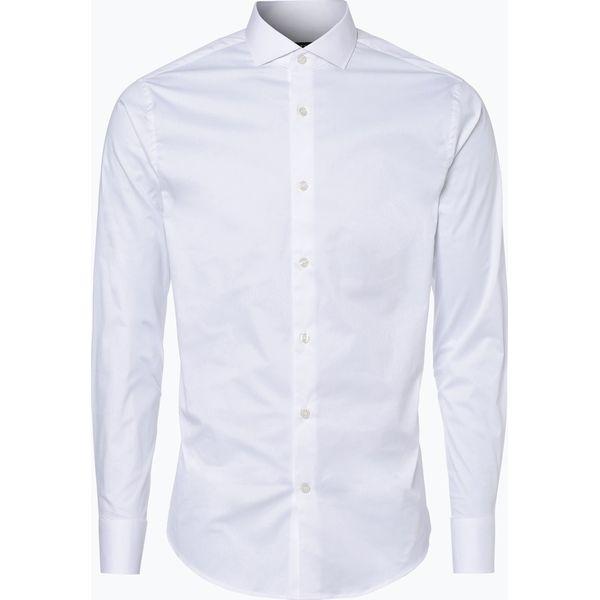 e0f1ee55fac414 Tiger of Sweden - Koszula męska – Farrell 5, biały - Białe koszule męskie  Tiger of Sweden, m, bez wzorów, klasyczne, z klasycznym kołnierzykiem, ...