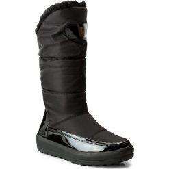 Kozaki JENNY FAIRY - WYL1128A-4 Czarny. Czarne buty zimowe damskie Jenny Fairy, z materiału. Za 189,99 zł.